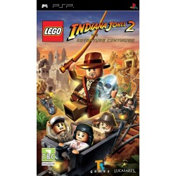 LEGO Indiana Jones 2: The Adventure Continues-psp