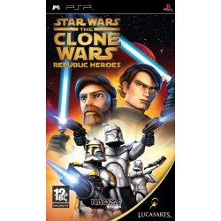 Star Wars The Clone Wars: Republic Heroes-psp