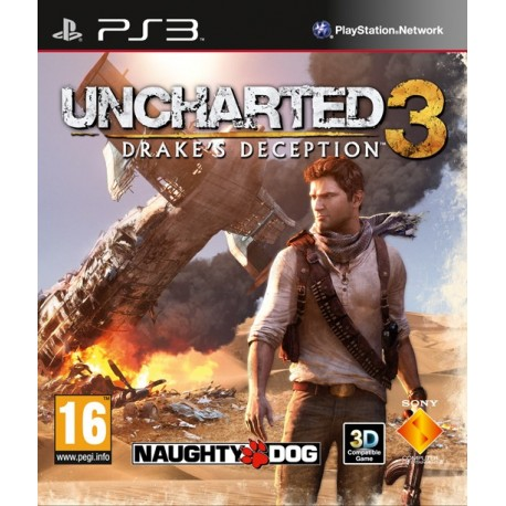 Uncharted 3: Drake´s Deception-ps3-bazar