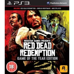 Red Dead Redemption GOTY-ps3