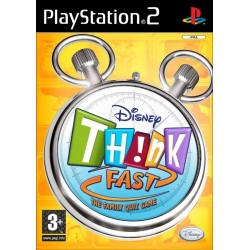 Disney Th!nk Fast-ps2