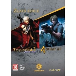 Devil May Cry 3 + Resident Evil 4 - GOLD