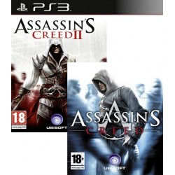 Assassins Creed & Assassins Creed 2 pack-ps3-bazar