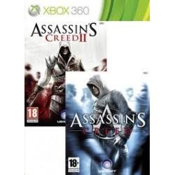 Assassins Creed & Assassins Creed 2 pack  -x360-bazar