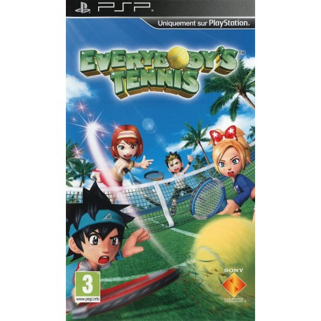 Everybody's Tennis-PSP-BAZAR