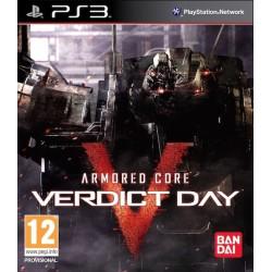 Armored Core: Verdict Day -ps3