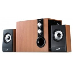 Speaker GENIUS SW-HF2.1 1205 32W maple wood -pc