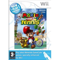 Mario Power Tennis-wii-bazar