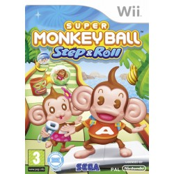 Super Monkey Ball: Step & Roll-WII