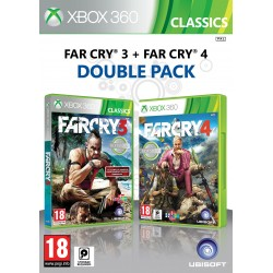 Far Cry 3 + Far Cry 4 Double Pack -x360-bazar