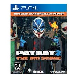 Payday 2 The Big Score -ps4