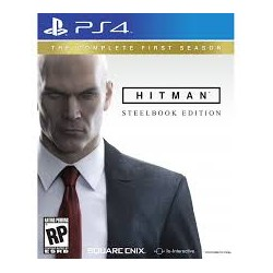 Hitman: The Complete First Season Steelbook Edition -ps4