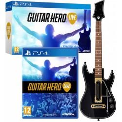 Guitar Hero Live + kytara -ps4