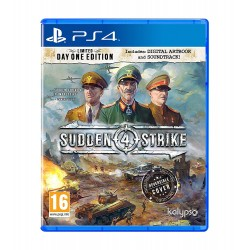 Sudden Strike 4 Limited Day One Edition -ps4
