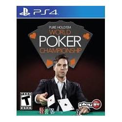 Pure Holdem World Poker Championship -ps4