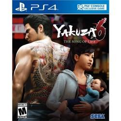 Yakuza 6: The Song of Life -ps4