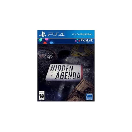Hidden Agenda -ps4