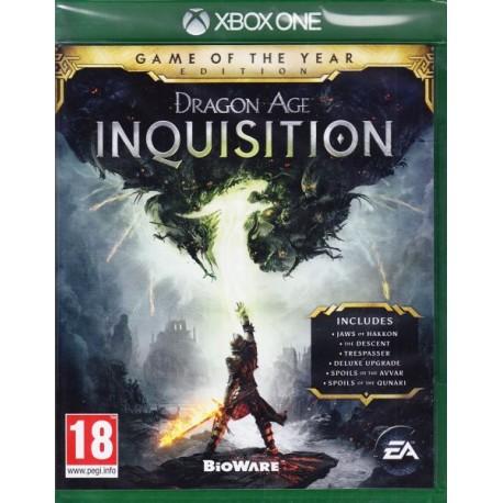 Dragon Age: Inquisition GOTY-xone