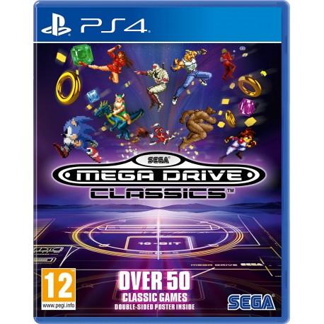 Sega MegaDrive Collection -ps4
