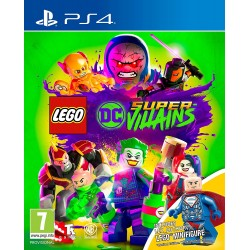 LEGO DC Super Villains -ps4