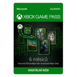 ESD XBOX - Game Pass předplatné na 6 měsíců