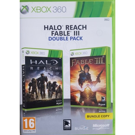 Fable 2 + Halo 3 Double Pack-x360-bazar