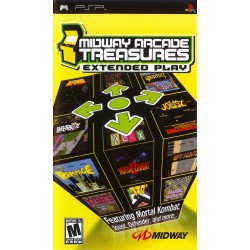 Midway Arcade Treasures: Extended Play-psp-bazar
