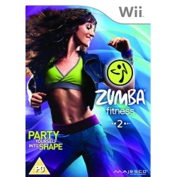 Zumba 2 Fitness Rush-wii-bazar