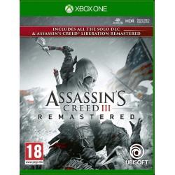 Assassins Creed 3 + Liberation Remastered-xone