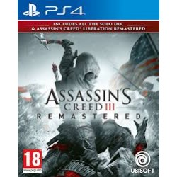 Assassins Creed 3 + Liberation Remastered-ps4
