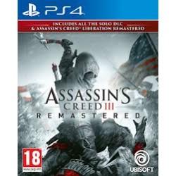 Assassins Creed 3 + Liberation Remastered-ps4
