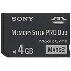 Memory Stick PRO Duo 4GB Sony-psp-bazar