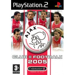 Ajax Club Football 2005-ps2