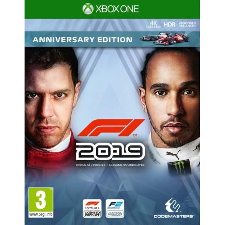 F1 2019 Anniversary Edition-xone