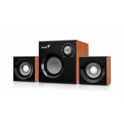 Speaker GENIUS SW-2.1 370 WOOD SPK 8W (6W+1W X 2)-pc