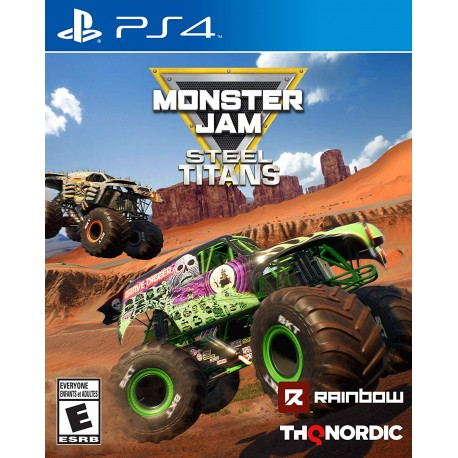Monster Jam: Steel Titans-ps4