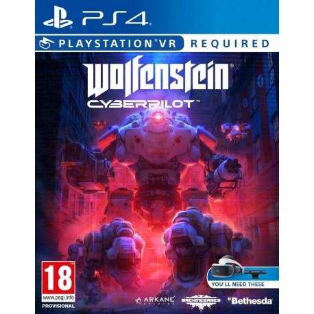 Wolfenstein Cyberpilot VR-ps4