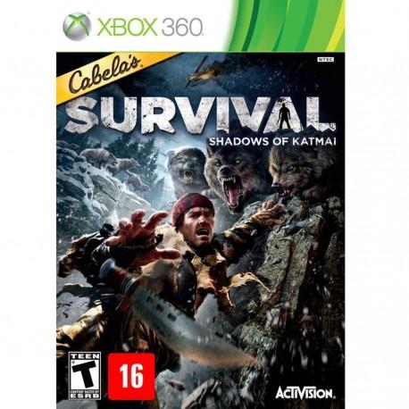 Cabela´s Survival: Shadow of Katmai-x360-bazar