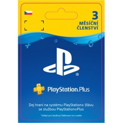 ESD CZ - PS Plus: 3 Month Membership-p4
