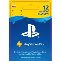 ESD CZ - PS Plus: 12 Month Membership-ps4