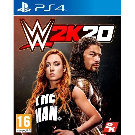 WWE 2K20-ps4