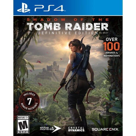 SHADOW OF TOMB RAIDER DEFINITIVE EDITION-ps4