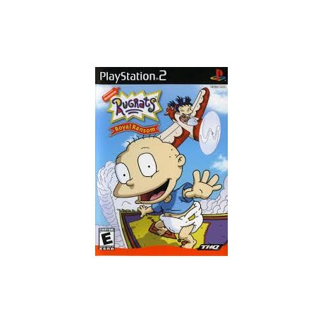 Rugrats Royal Ransom-ps2-bazar