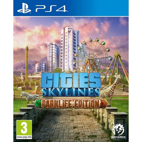 Cities Skylines Parklife Edition-ps4