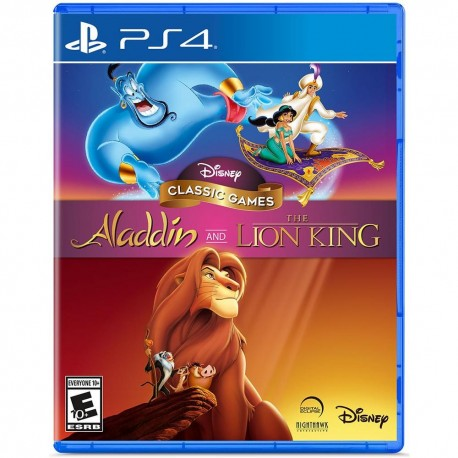 Disney Classic Games: Aladdin and The Lion King-ps4