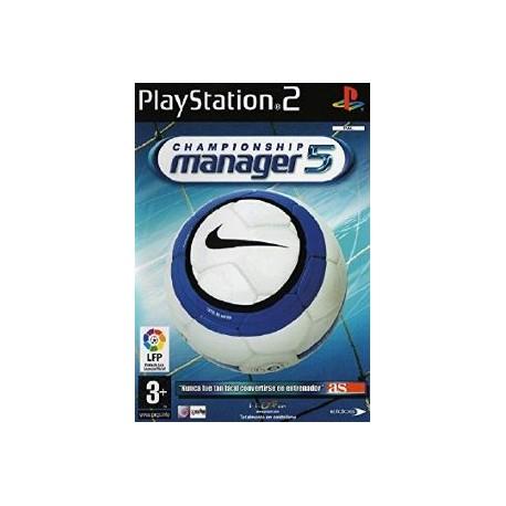 Championship Manager 5-ps2-bazar