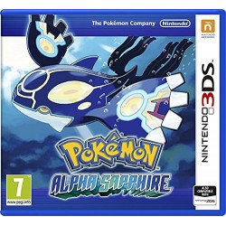 Pokemon Alpha Sapphire - Americká norma !! Bez obalu !!
