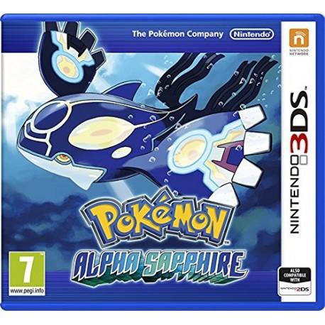 Pokemon Alpha Sapphire - Americká norma !! Bez obalu !!-3DS-bazar