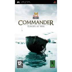 Commander Europe at War-psp-bazar