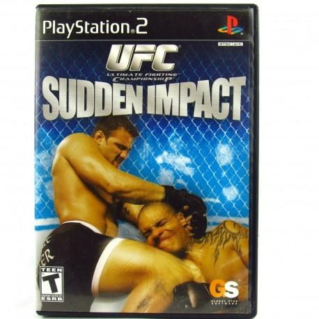 UFC Sudden Impact-ps2-bazar